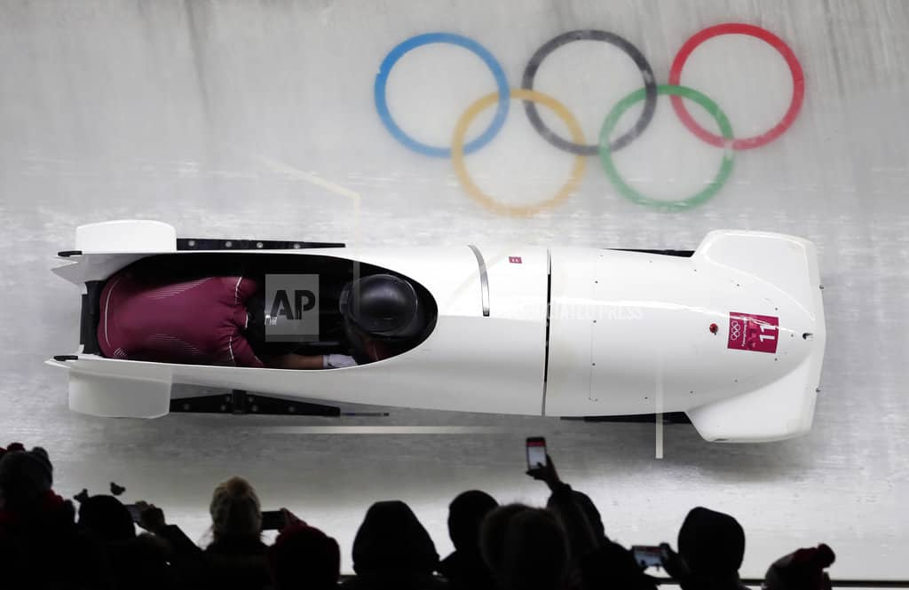The Latest: Russia bobsledder admits doping, is disqualified