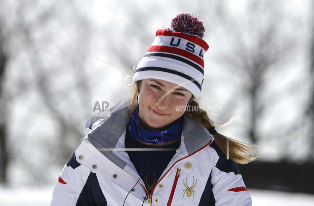 Shiffrin relaxed, fast and focused on Olympic combined event