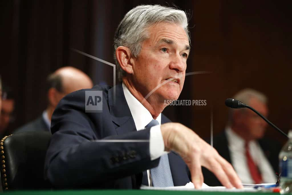 Powell says Fed still believes rates can go up gradually