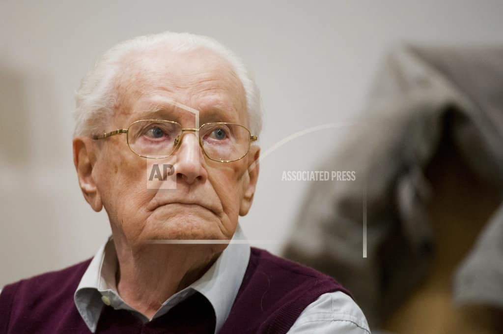 Former German death camp guard submits new clemency bid