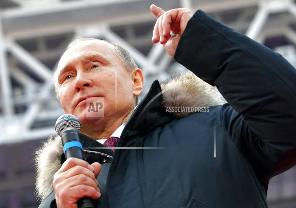 Putin: Russia will 'never' extradite citizens accused by US