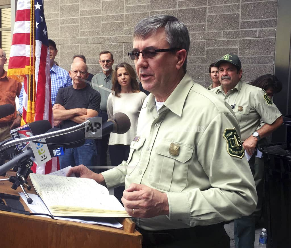 Interim Forest Service chief says she'll confront harassment
