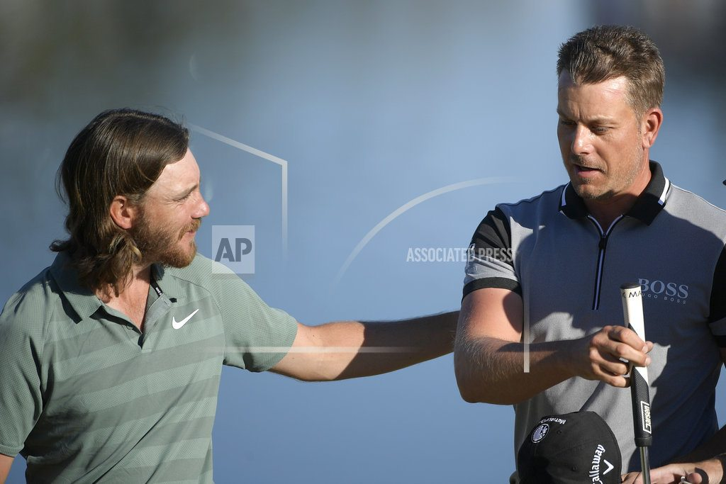 Stenson, DeChambeau tied for early lead at Bay Hill