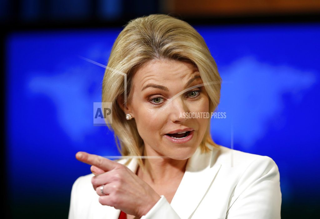 At State Department, Heather Nauert's star is ascendant