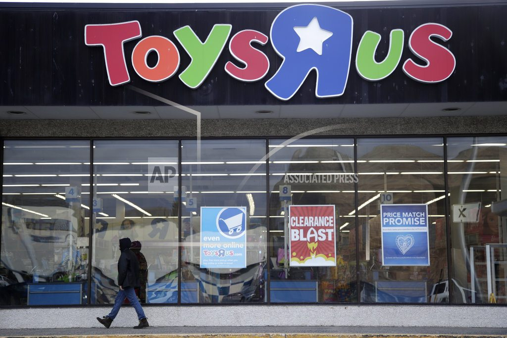 A swan-song for Toys R Us, the going-out-of-business sale