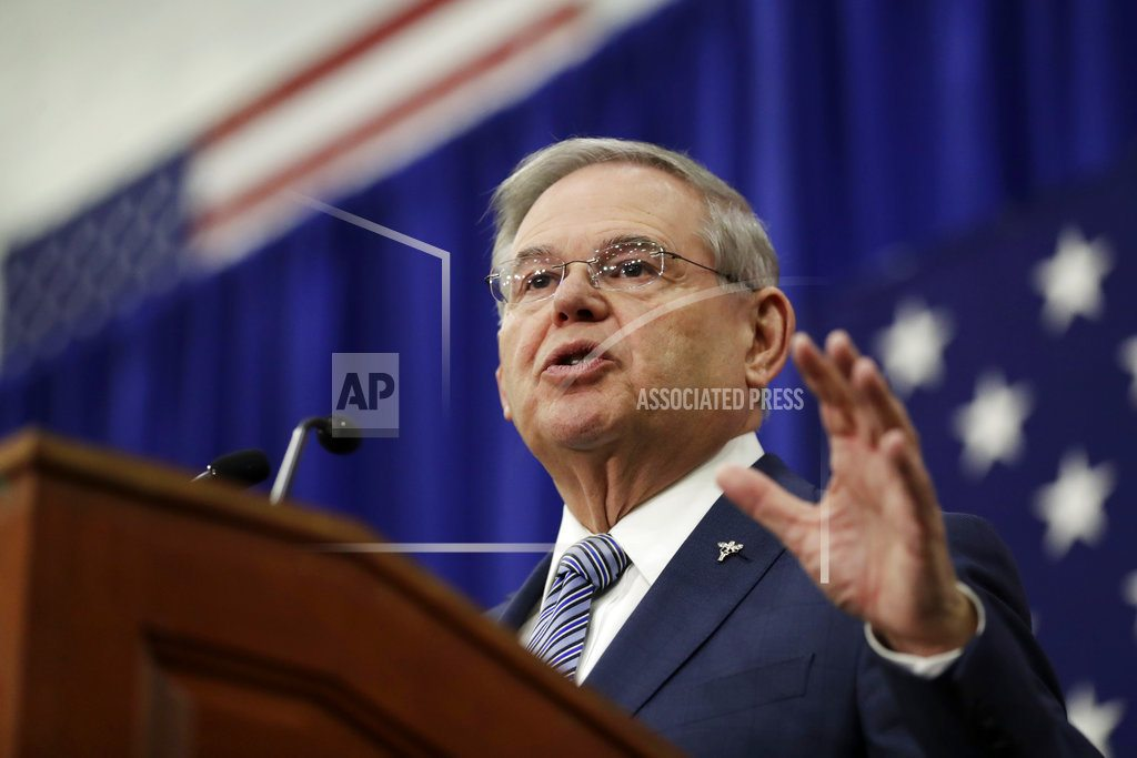 Bribery charges behind him, Menendez runs for re-election