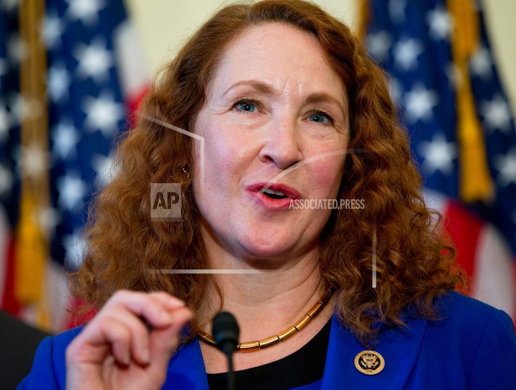 Democrats tell embattled congresswoman to quit; she says no