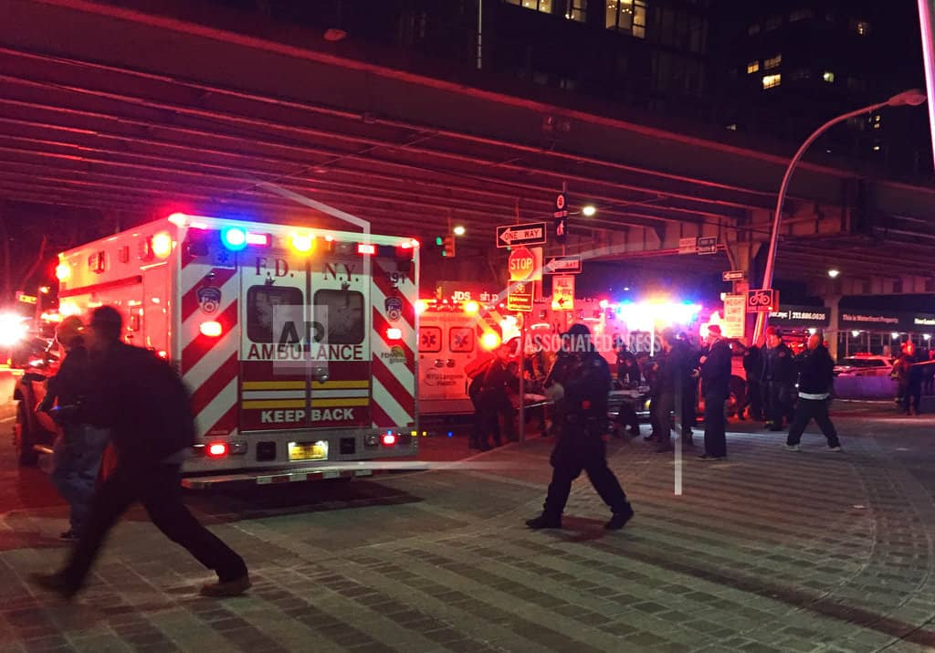 The Latest: All 5 passengers killed in NYC helicopter crash