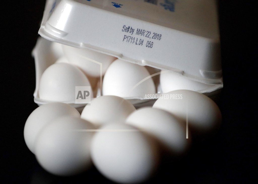 Arizona weighs unusual plan for longer egg expiration dates