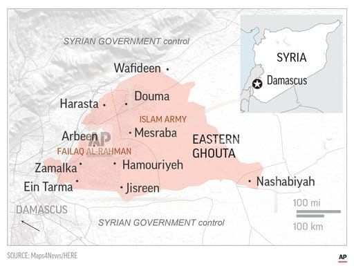 Syrian army makes 'significant' advances in Damascus' suburb