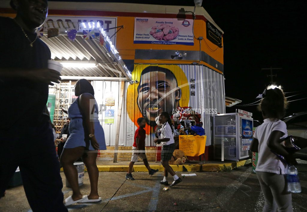 New videos show clearest account of Alton Sterling's killing