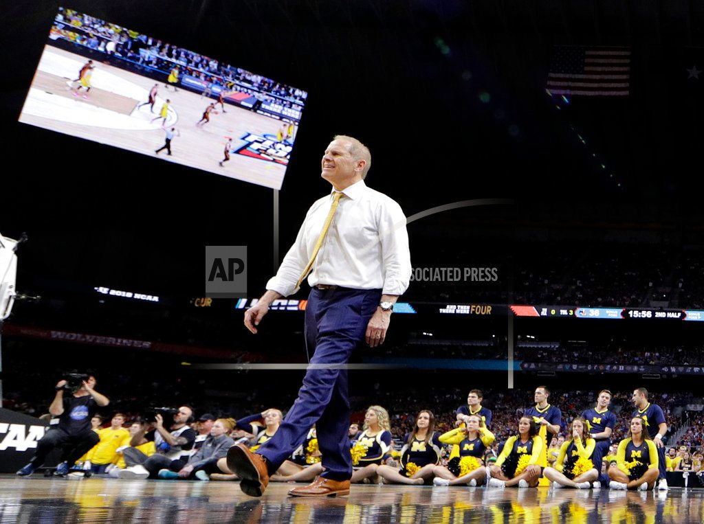 NCAA Latest: Kansas running out of time for comeback