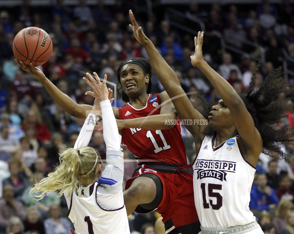 Mississippi State routs NC State 71-57 to reach Elite 8