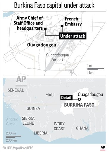 Burkina Faso capital recovers from double extremist attacks