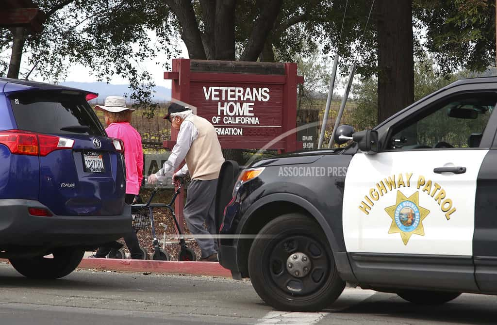 Gunman takes hostages at veterans home, won't answer police
