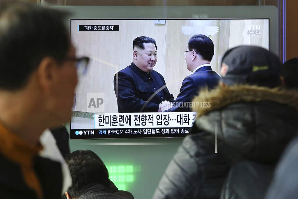 The Latest: China hopes for restart of N. Korea negotiations