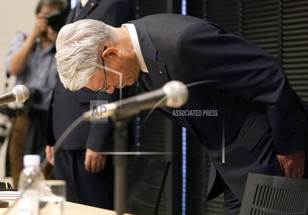 Kobe Steel chief steps down over massive fake data scandal