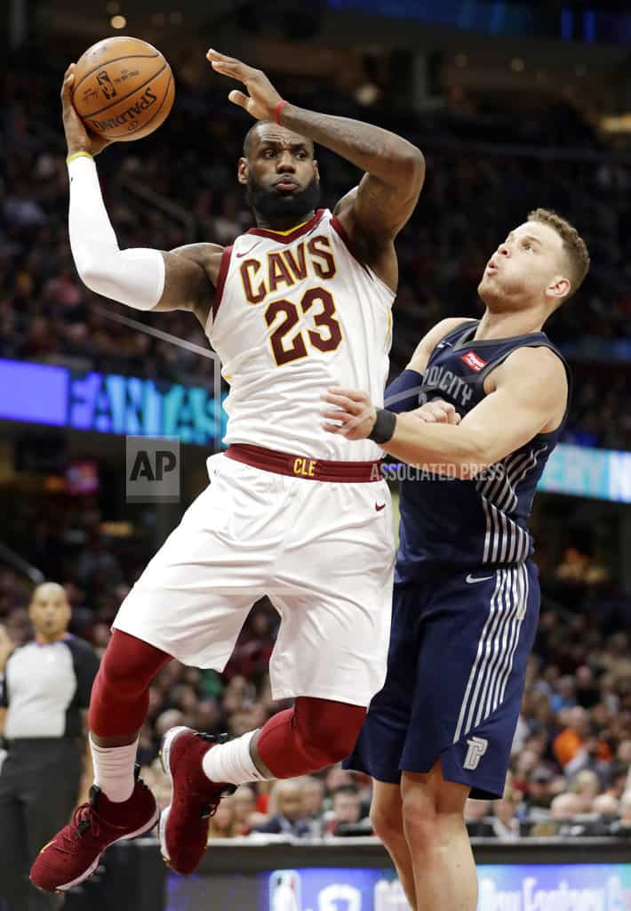 Larry Legend: Nance has career game as Cavs beat Pistons