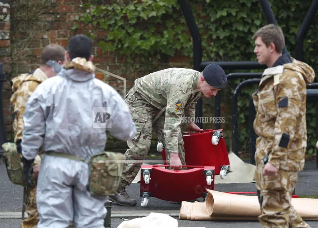 UK lawmaker says spy poisoning looks to be 'state-sponsored'