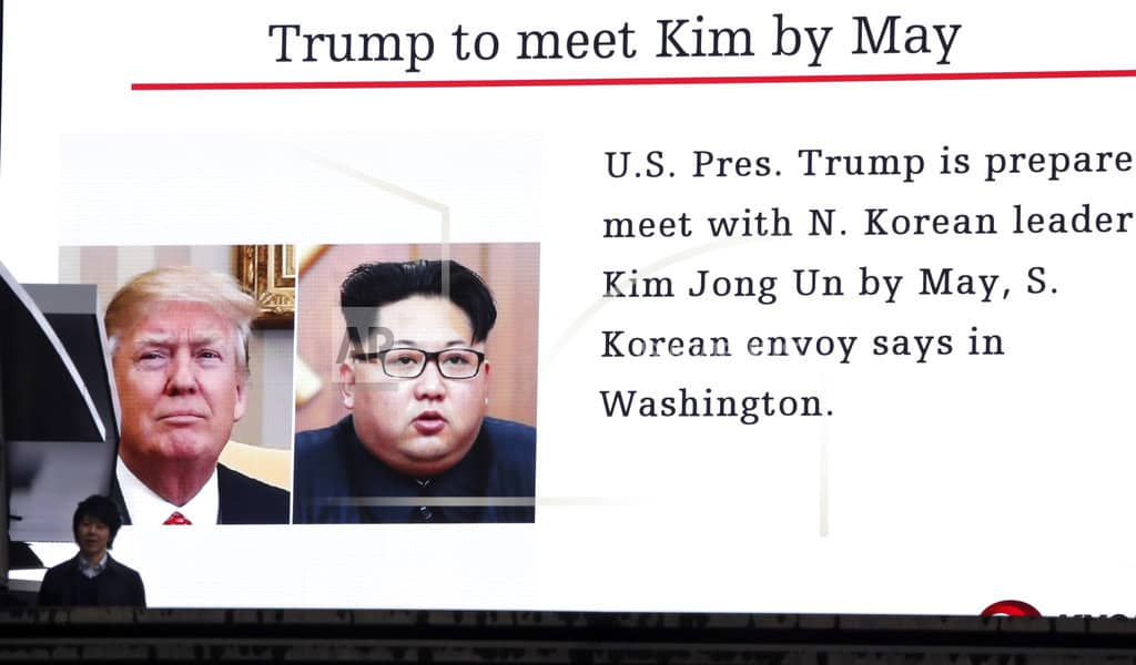President Trump plans to meet Kim Jong Un for nuke talks