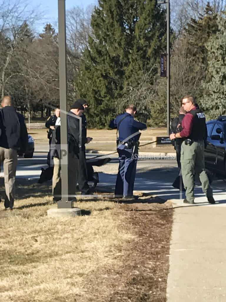 Police: Parents gunned down by their son on college campus