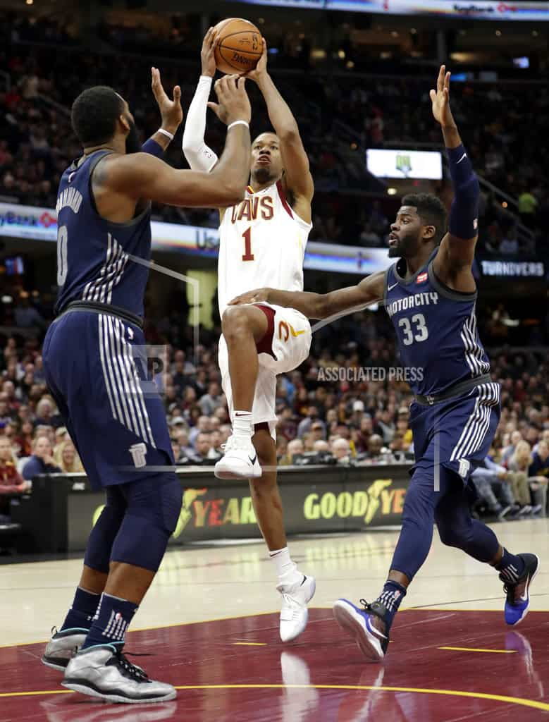 LeBron, Nance power Cavaliers past Pistons 112-90