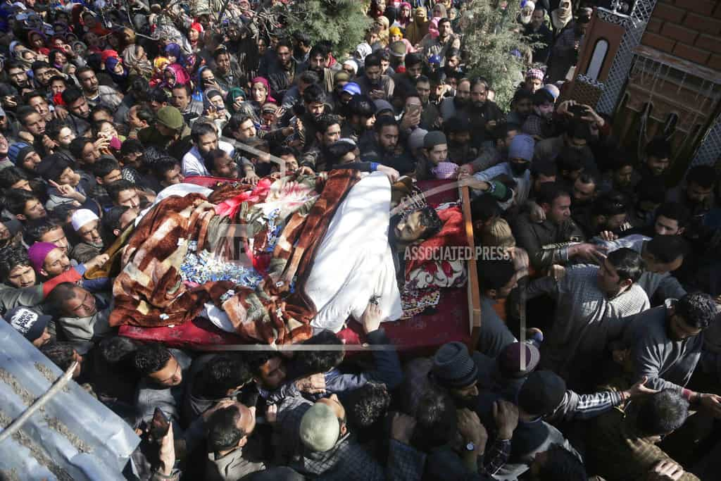 Protests rock Kashmir after deadly shooting by Indian troops