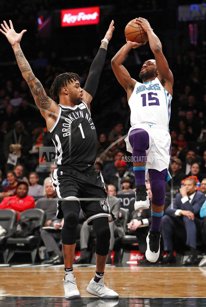 Howard has 32 points, 30 rebounds in Hornets' win over Nets