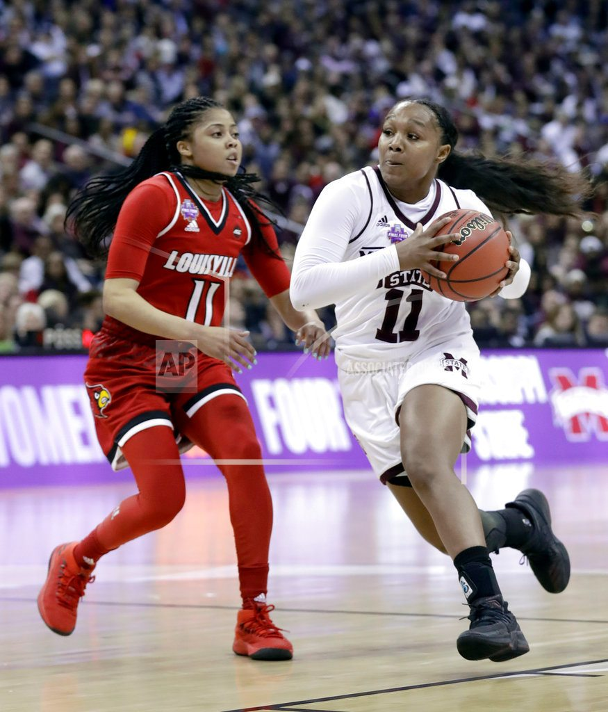 The Latest: Louisville and Mississippi State headed to OT