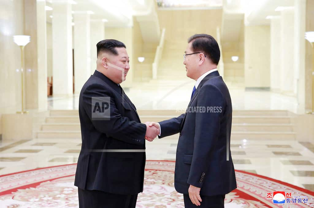 The Latest: NKorea to stop weapons tests if it has US talks