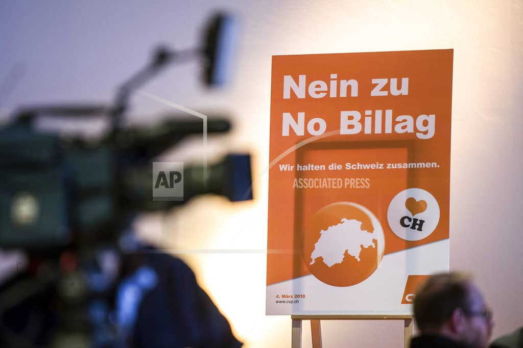 Swiss vote on public TV fees watched elsewhere in Europe
