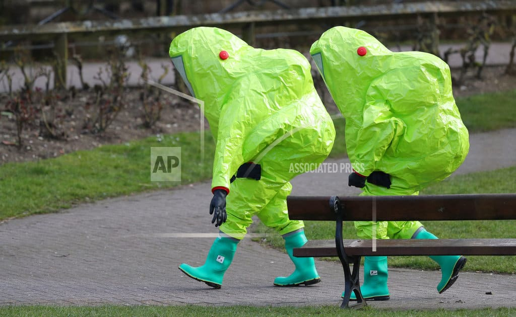 UK home secretary visits city where ex-Russian spy poisoned