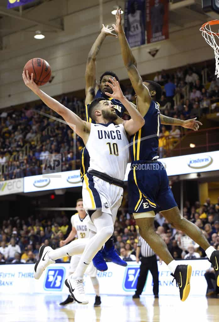 UNC Greensboro smothers ETSU to win SoCon title 62-47