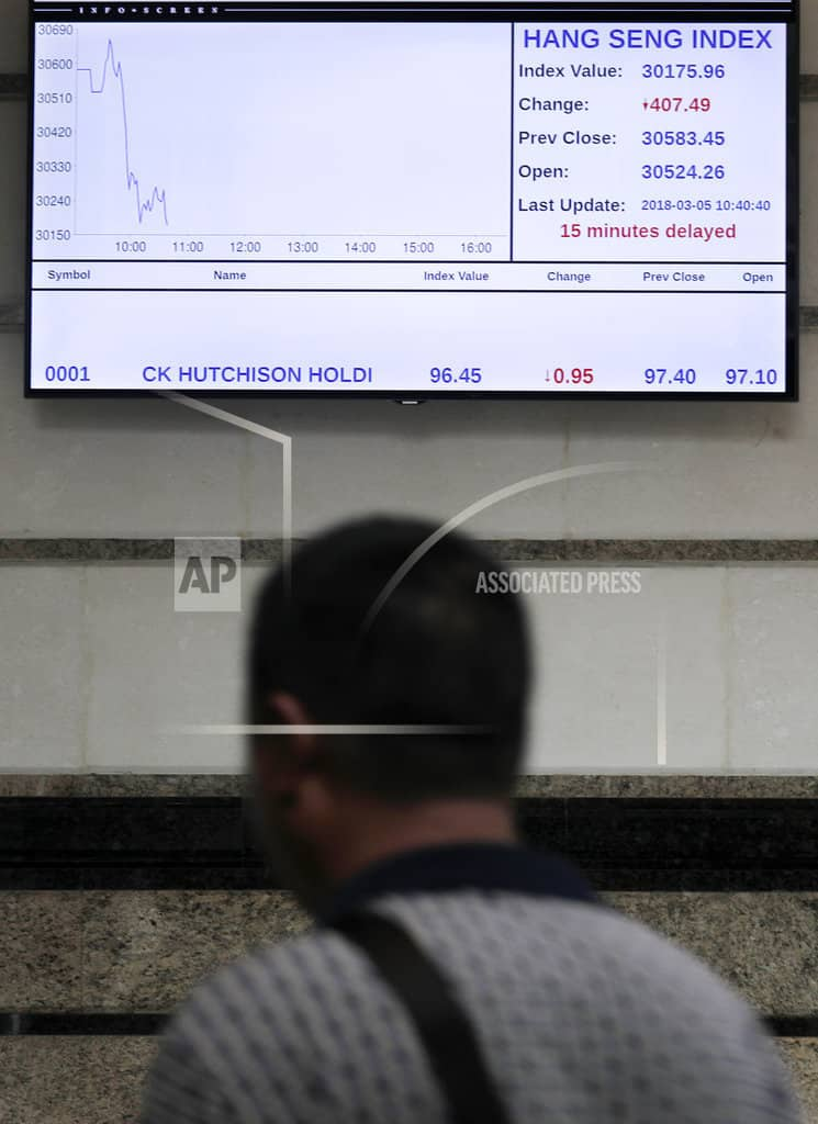 World shares mixed as China, Italy vote, tariffs in focus