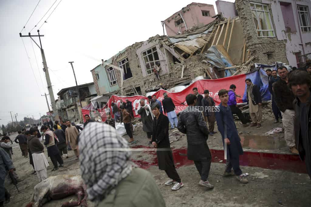 Large explosion in Afghan capital kills young girl, wounds 6