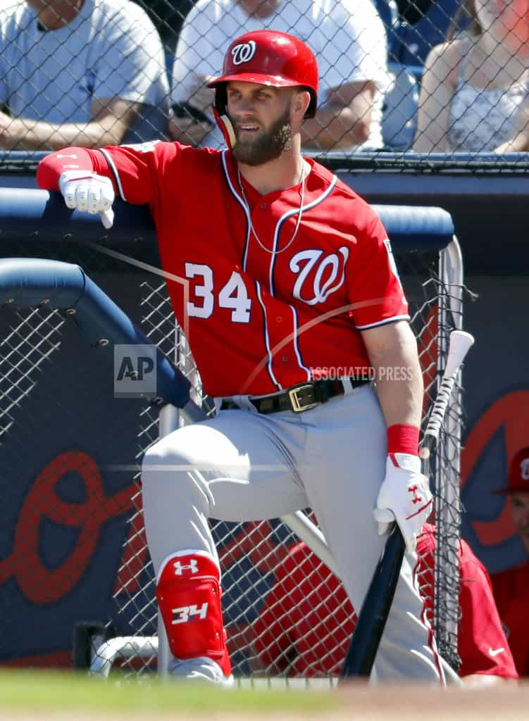 Bryce Harper returns to Washington Nationals' lineup