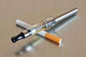 E-cigarette ads associated with cigarette smoking initiation among youth