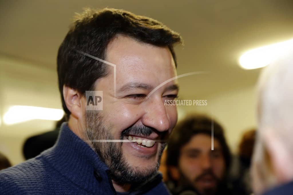 Euro skeptic parties surge in Italy election, but no majority