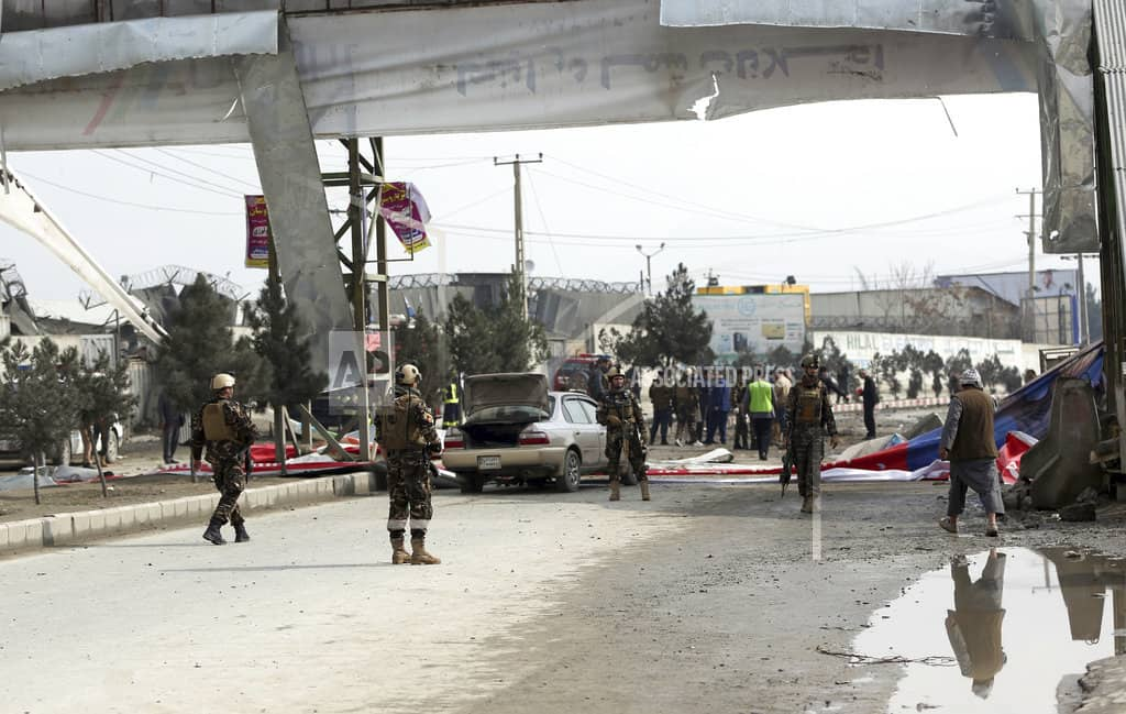 Explosion in Afghan capital kills young girl, wounds 19