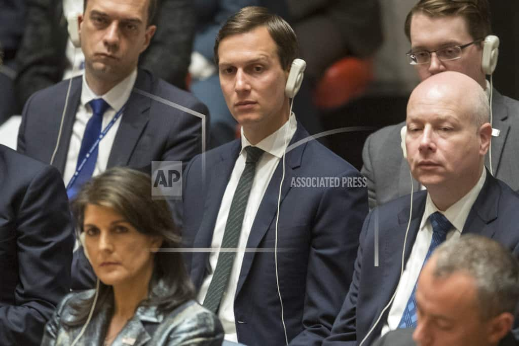 Kushner's security clearance may affect Mideast peace effort