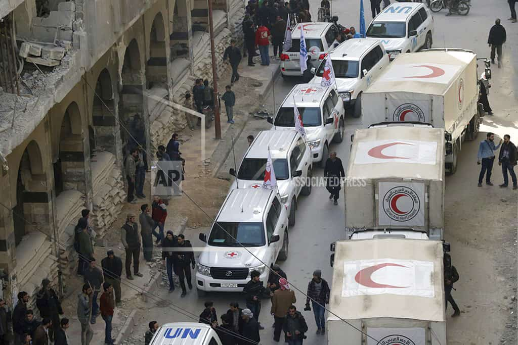 Red Cross: Violence halts aid delivery to Syria's Ghouta
