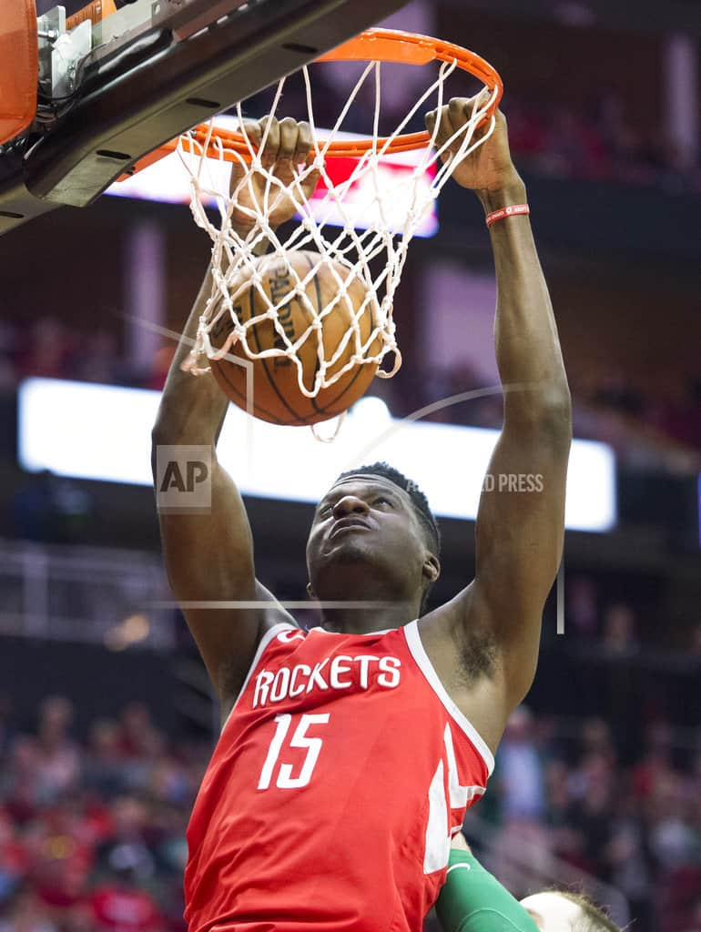 Rockets extend streak to 15 with 123-120 win over Celtics
