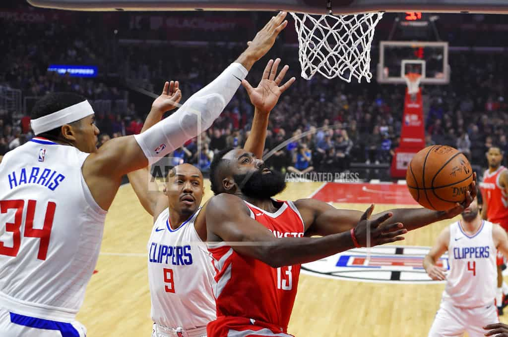 Rockets start fast, beat Clippers 105-92 for 14th straight