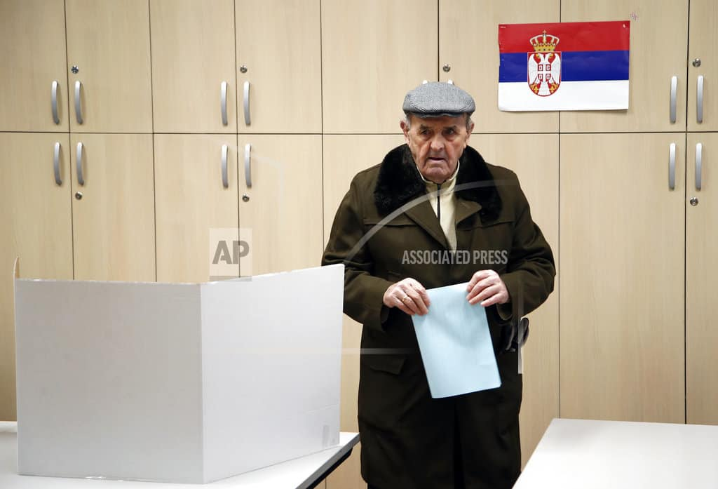 Voting Serbia capital tests ruling populists' grip on power