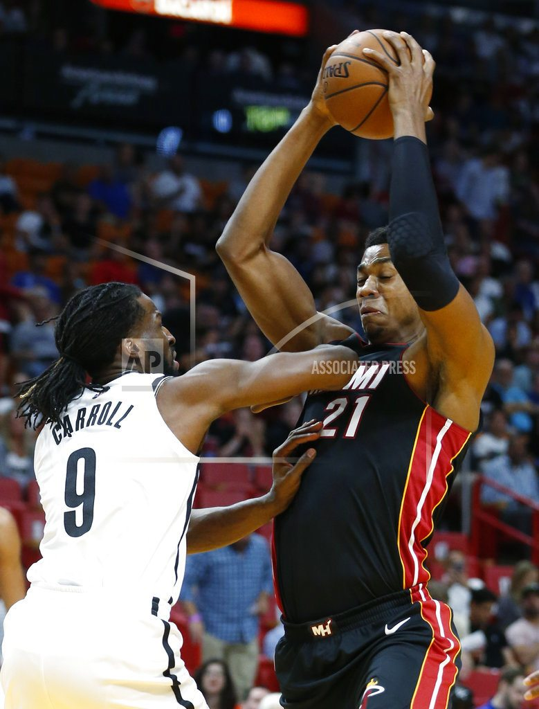 Picture imperfect: Heat fine Whiteside, may be at crossroad