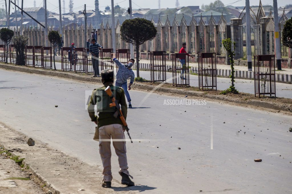 Anti-India protests erupt in Kashmir amid deadly fighting