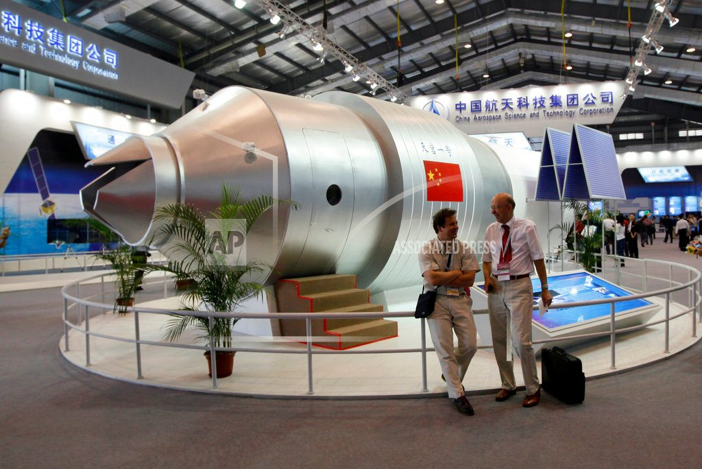 Defunct Chinese space lab set to re-enter Earth's atmosphere