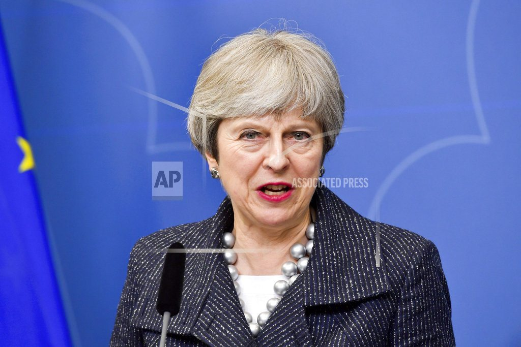 LONDON | UK's May says Syria chemical weapons can't go unchallenged