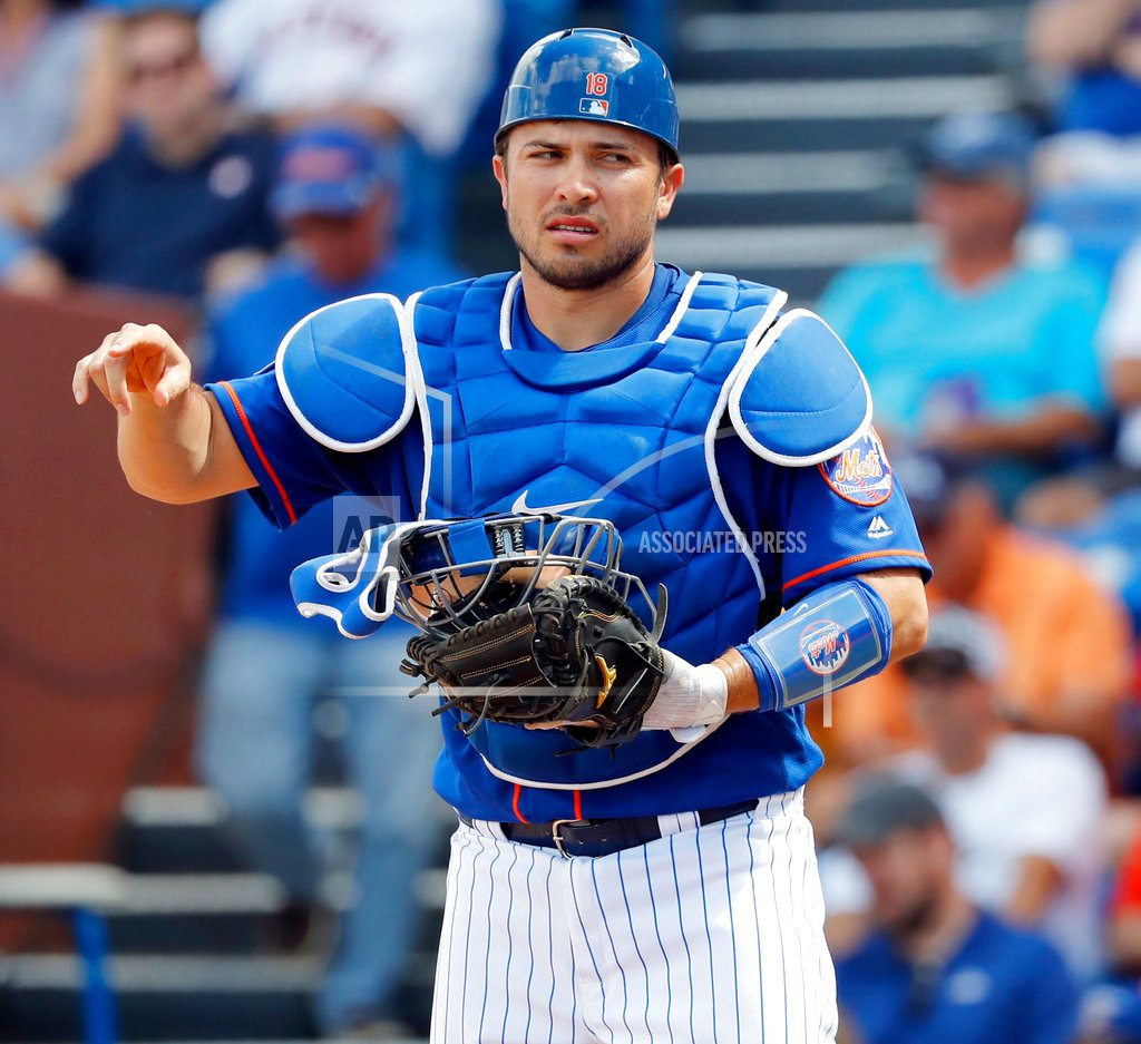 MIAMI | Mets' Travis d'Arnaud tears elbow ligament, surgery possible