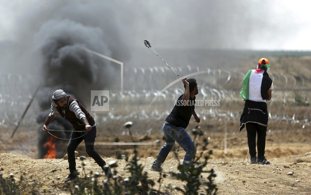 GAZA CITY, Gaza Strip | The Latest: Gaza ministry says 363 border protesters wounded